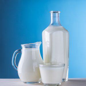 A photo of milk